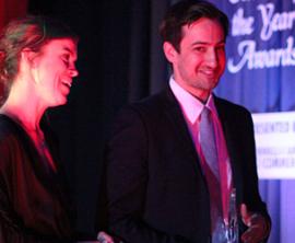 ESCA Gourmet Pizza Named Entrepreneur of the Year