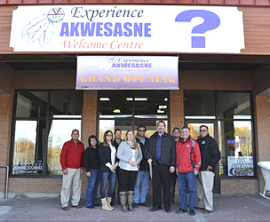 Ontario Invests $175,000 in Experience Akwesasne Welcome Centre