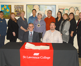 St. Lawrence College and Akwesasne Renew Programming