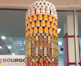 Cornwall Canstruction Amazes at the Benson Centre