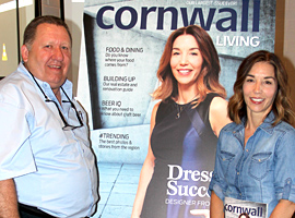 Lisa Coleman fait la couverture du magazine Cornwall Living