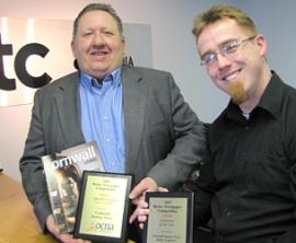 Cornwall Living Magazine Wins Award