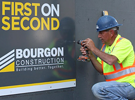 Bourgon Construction Exploring Hub Concept for First on Second