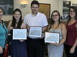 Team Cornwall Youth Volunteer Bursaries Handed Out