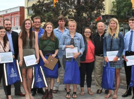 Students Recognized for Their Sense of Community and Leadership
