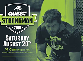 40 Athletes to Compete for Cornwall Strongman Strongwoman Honours