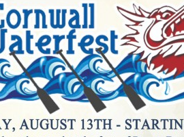 The Seventh Annual Cornwall Waterfest is Back this Weekend