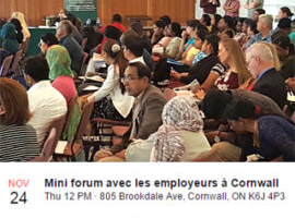Helping Newcomers Connect with Employers