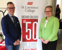 Share St. Lawrence College Celebrates 50 Years