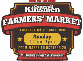 New Farmers' Market Opens at St. Lawrence College on May 28th