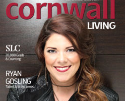 Melanie Brulée Graces the Cover of Cornwall Living Magazine