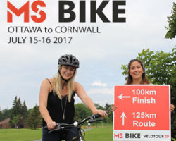 MS Bike Tour Rolls into Cornwall this Saturday