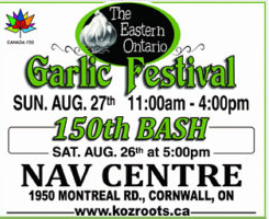 Eastern Ontario Garlic Festival Kicks Off 3rd Year