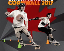 Slalom Skateboarding Worlds Race into Cornwall
