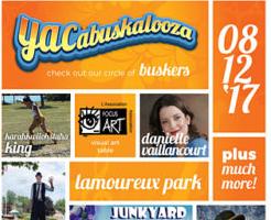 YACabuskalooza Brings Buskers to Lamoureux Park