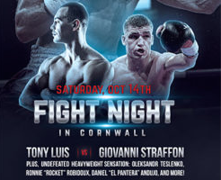 Tony Luis to Defend Title this Weekend