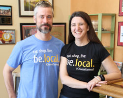 Eat.Shop.Live.Be.Local. New T-Shirts Celebrate Cornwall