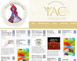New Online Arts Calendar for Cornwall and Region