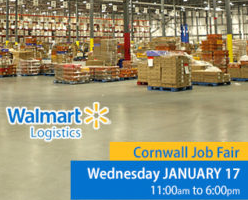 Walmart Logistics Looking to Grow its Cornwall Workforce