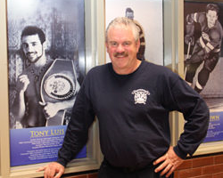 New Wall of Heroes at Cornwall Sports Hall of Fame