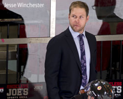 Jesse Winchester named Coach of the Year by CCHL