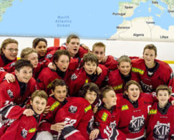 Cornwall Welcomes Kungälv Hockey Group