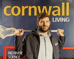 Jacob Ruest Scores Cover of Cornwall Living Magazine