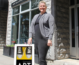 Cornwall Art Walk Adds Colour to Downtown