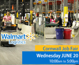 Walmart Logistics Looking to Fill 50 Positions