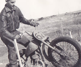 Bert Irwin Inducted into Canadian Motorcycle Hall of Fame