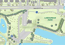 Arboretum Map