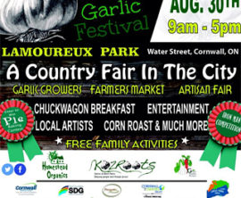 Garlic Festival Adds Flavour to Lamoureux Park this Sunday