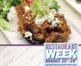 Restaurant Week Kicks Off Today!
