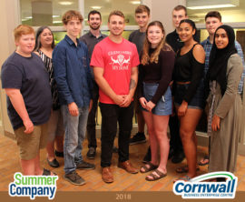 Students Launch 10 Summer Companies