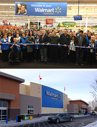 Walmart Supercentre Opens In Cornwall Choose Cornwall