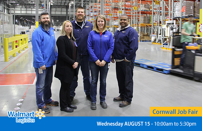 Walmart Logistics Job Fair - Cornwall August 2018