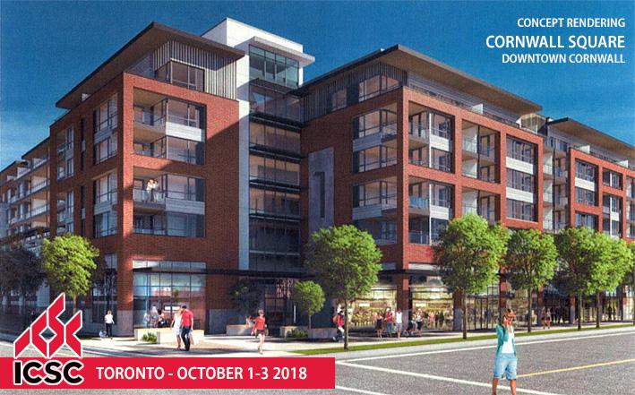 Cornwall at ICSC Toronto 2018 - Booth 1024