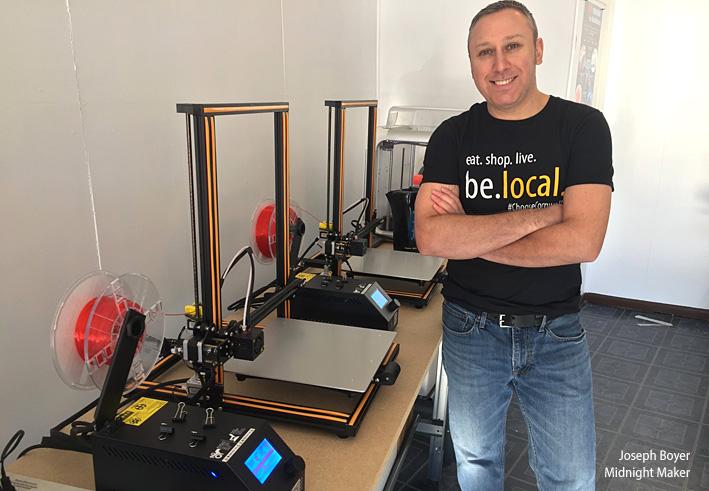 Midnight Maker 3D Printer