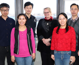 Chinese scholars visit St. Lawrence College in Cornwall