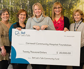 Cornwall Community Hospital Receives $20,000 Grant