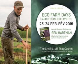 Eco Farm Days Set for February 23 and 24
