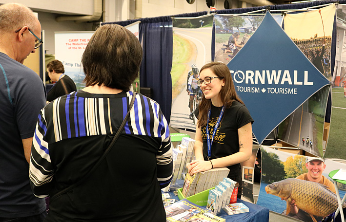 Cornwall Tourism at Trade Show