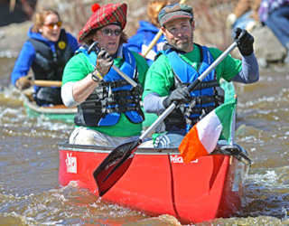 Raisin River Canoe Race