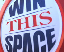 Win this Space… Again!