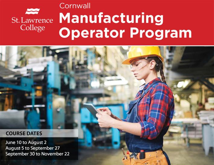 Manufacturing Operator Training Cornwall