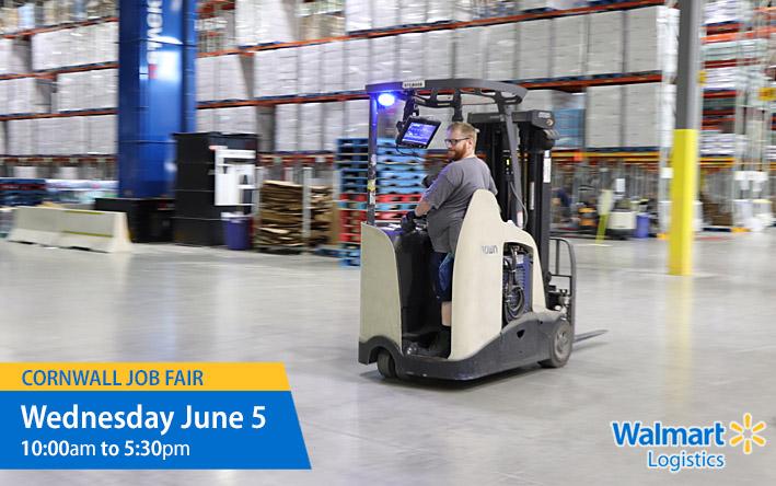 Walmart Logistics Cornwall Job Fair