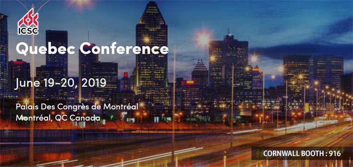 Cornwall Exhibit at ICSC Quebec 2019