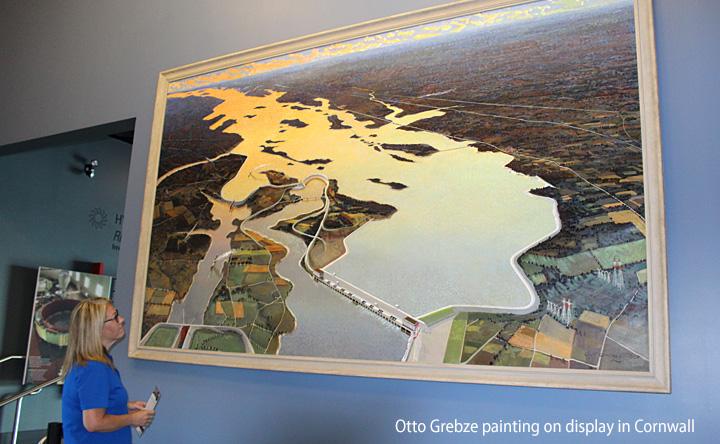 Otto Grebze Painting Cornwall