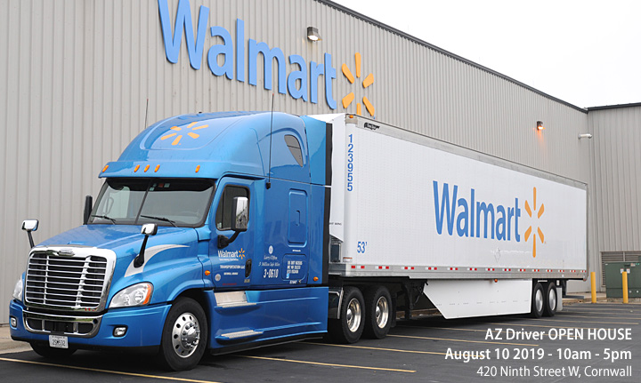Walmart Fleet Open House Cornwall