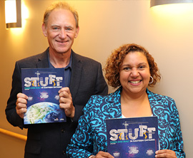 STUFF Magazine - Terry Tyo and Mayor Bernadette Clement